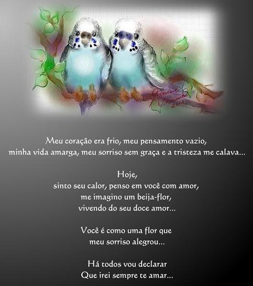 Recado de Amor, recados para facebook, scraps para facebook - Mensagens & Imagens
