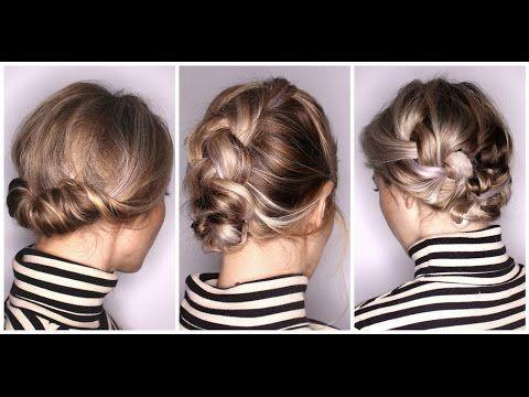 Drei Schnelle Frisuren Fur Halblanges Haar Youtube Frisuren Halblanges Haar Halblange Haare Hochsteckfrisuren Mittellang
