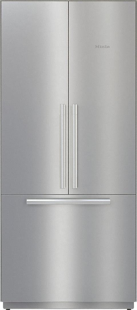 Miele Mastercool Series Kf2981sf French Door Refrigerator French Doors Ice Maker