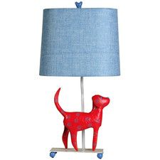Mini Dog Table Lamp