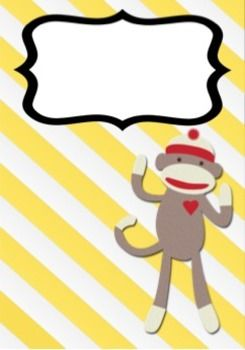 Free Sock Monkey Cover Page