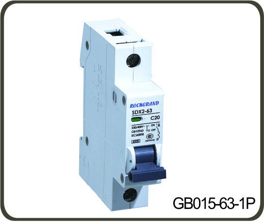 Gb015 63 Miniature Circuit Breaker Is Especially Suitable