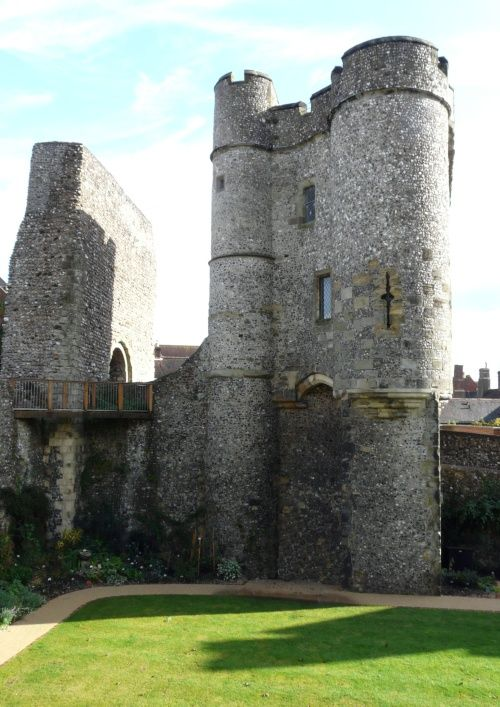 Lewes Castle, Lewes, East Sussex, England.