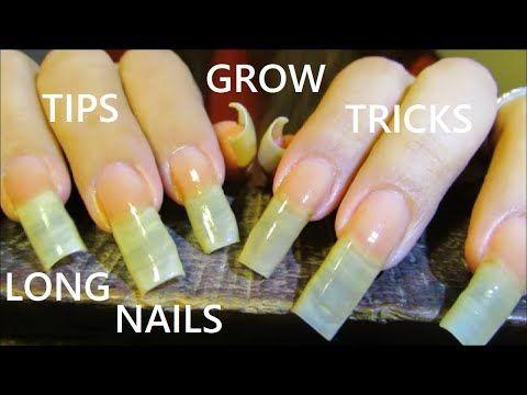 Tips Tricks For Growing Long Natural Nails Super Long Youtube In 2020 Natural Nails Long Natural Nails Nails