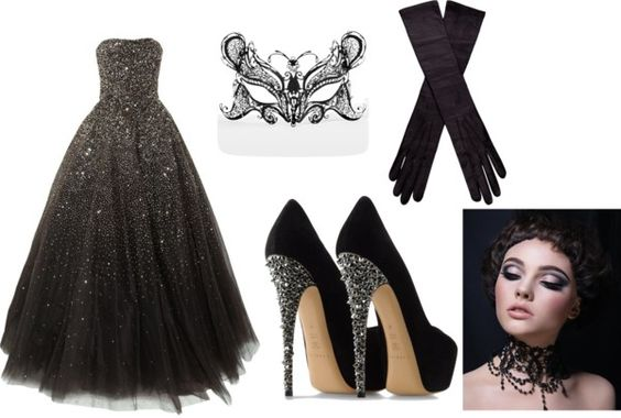 """""""masquerade"""" by sarahthesloth on Polyvore"""