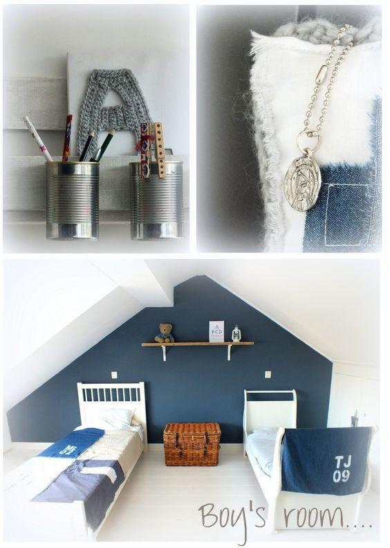 Jongenskamer jongenskamer pinterest met - Wallpaper volwassen kamer trendy ...