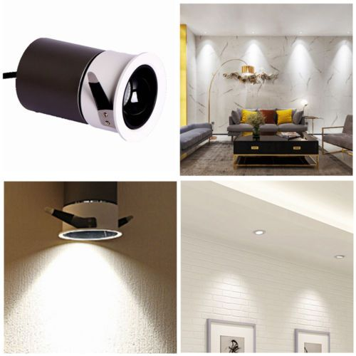 Dimmable 7w Spot Led Encastrable Plafonnier Lampe Chambre Lumiere Ampoule 230v Ebay Recessed Ceiling Lights Recessed Spotlights Wall Lamps Bedroom