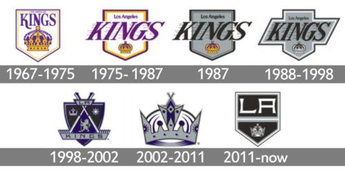 Los Angeles Kings Logo History Los Angeles Kings Logo Los Angeles Kings Logos