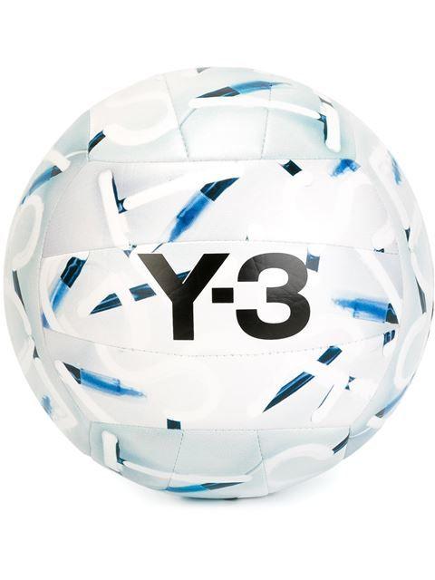 Y-3 ballon de volley-ball à logo