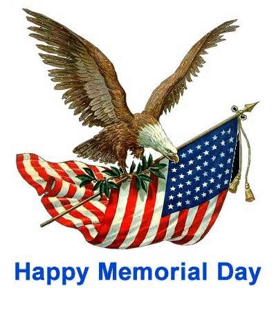 Enjoy a Happy & Safe Memorial Day weekend!