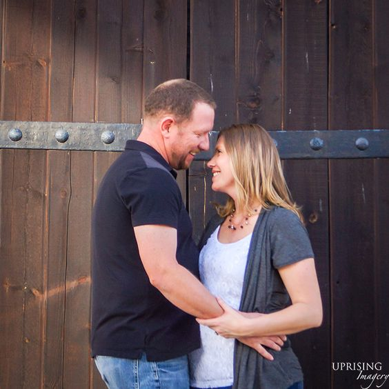 Southern California Winery Engagement Session