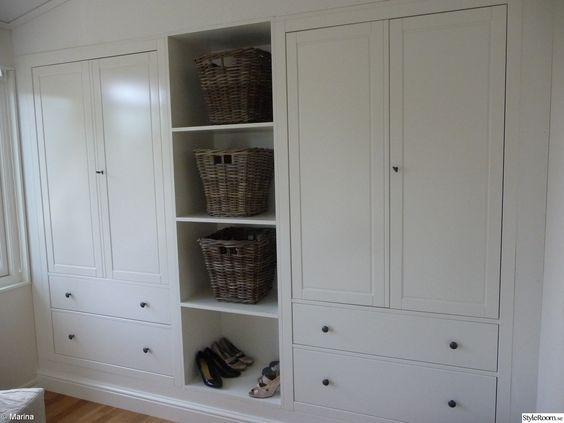 platsbygd garderob,ikea hemnes | Interior DIY ideas | Pinterest ... : garderob bank : Garderob