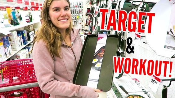 TARGET ADVENTURE + BEACH WORKOUT! Vlogmas Day 11!