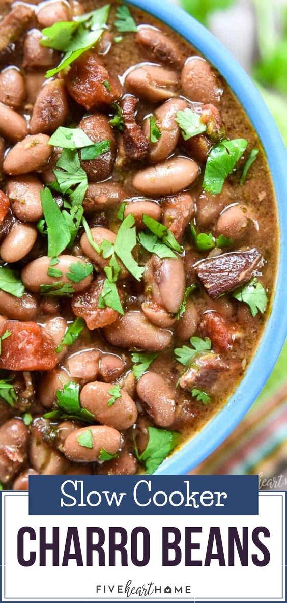 Slow Cooker Charro Beans
