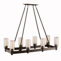 Kichler 2943OZ Circolo Chandelier Linear 8Lt - Dining Room
