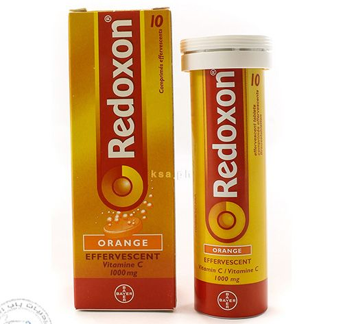 ريدوكسون أقراص لتعويض نقص فيتامين سى Redoxon Tablets Bottle Beverage Can Sparkling Ice