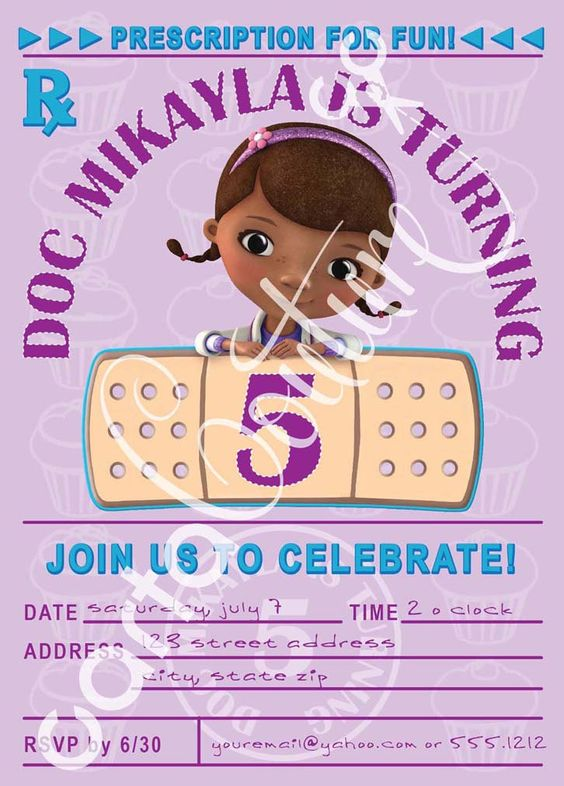 Doc McStuffins, Birthdays and Parties on Pinterest