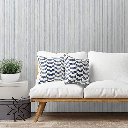 Tempaper Fa317 Faded Stripe Removable Peel Stick Wallpa Https Www Amazon Com Dp B07hxx6z8l Ref Cm Sw R Pi Dp U X Home Decor White Living Room Flat Paint