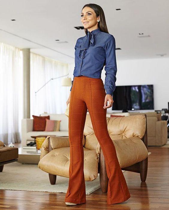 """Hola Chicas, help see Empezamos la semana con más un post para las chicas trabajadoras =) El pantalón """"Flare"""" o """"campana"""" nunca sale de moda, buy siempre está presente con m…"""