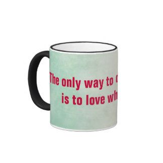 Inspirational personalized mug