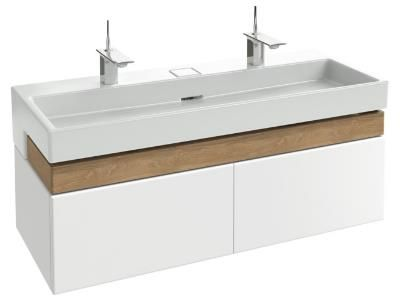 Terrace meuble sous plan vasque 120 cm jacob delafon for Meuble salle de bain simple vasque 120 cm