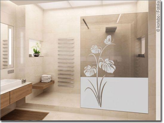 Fensterfolie Und Sichtschutzfolie Fur Bad Massanfertigung In 2020 Sichtschutzfolie Fensterfolie Dekor