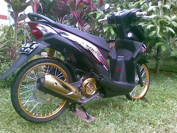 honda beat fi modifikasi terkeren