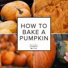 How to Bake a Pumpkin