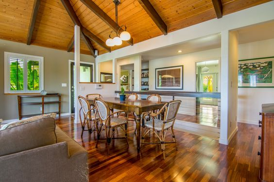 Beautiful Contemporary Island Home located perfectly Upcountry in Kua'aina Ridge! 31 S. Hiena Pl. listed by Rob Shelton, R(BIC) and Wendy Peterson, R(S) offers peek-a-boo views of the ocean and mountain, this lovely home combines the warmth of island hardwoods with the refreshing colors of the ocean below. Refreshing and beautiful, this is a must see!! See more at www.islandsothebysrealty.com MLS #368852.