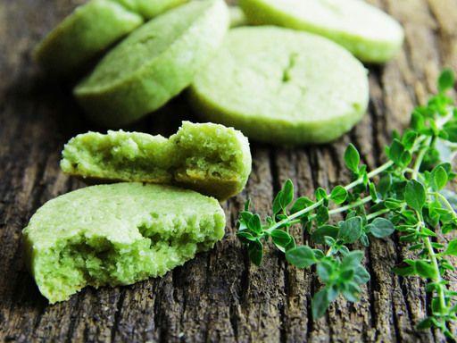 Recette Petits sablés au thé vert matcha