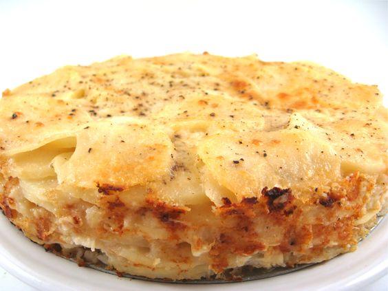 ... Skinny Au Gratin Potatoes with Weight Watchers Points | Skinny Kitchen