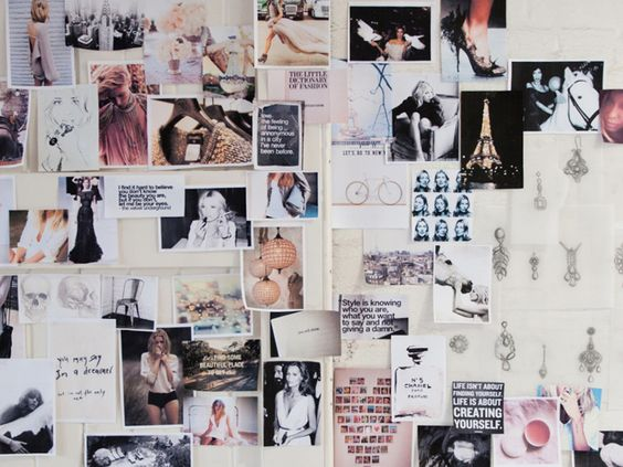 Fashion Style Moodboard Classy Chic Romantic Feminine Stylish Mood Board Inspiration
