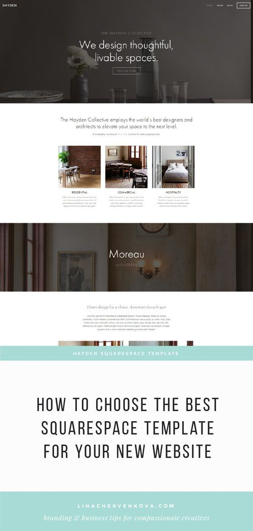 How To Choose The Best Squarespace Template For Your New Website