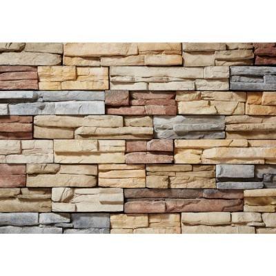 Veneerstone Austin Stone Secoya Flats 10 sq. ft. Handy Pack Manufactured Stone - 97434 - The Home Depot
