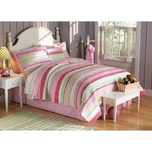My World Anna's Ruffle Bedding Quilt Set