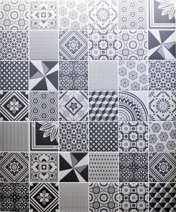 decorative grey wall tile by british ceramic tiles uk