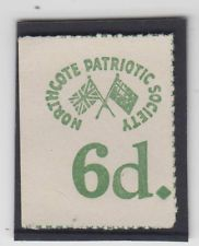 WW1 Australia Northcote Patriotic Society 6d green charity label war bond scarce