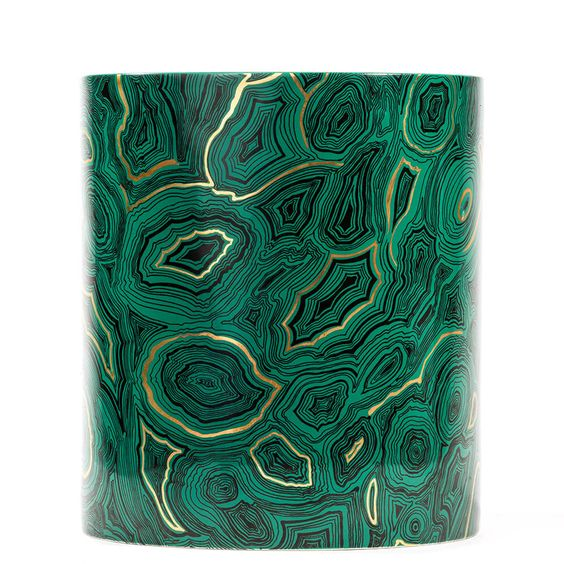 Fornasetti Gigantesco Candle - Malachite