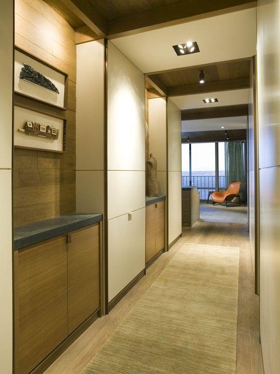 Clever Hallway Storage Ideas DigsDigs Hallways Stairs - 63 clever hallway storage ideas