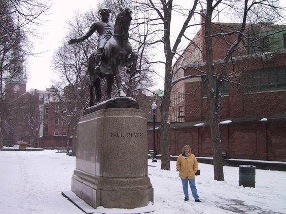 Boston-  Me and Paul   :)