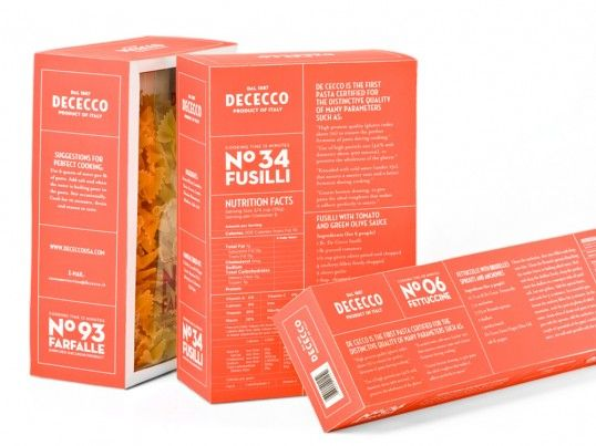 DeCecco by Kate Yip #grafica #package