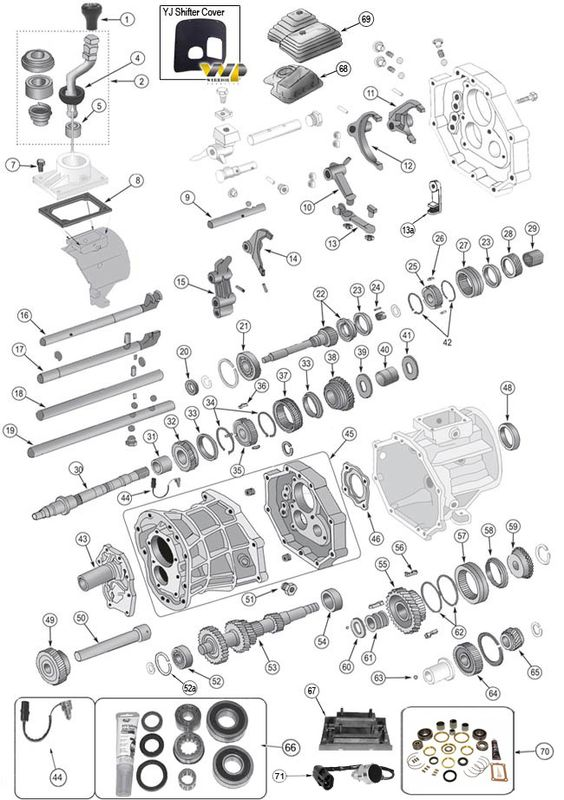 ax15 transmission parts