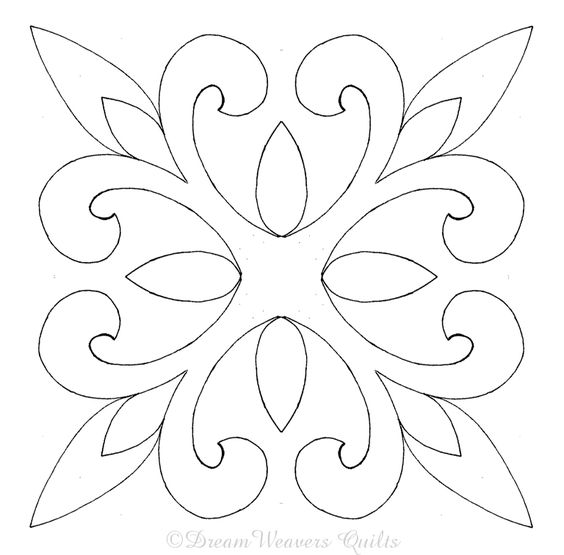 Love this design. Going to stencil it on my bedroom pillows!