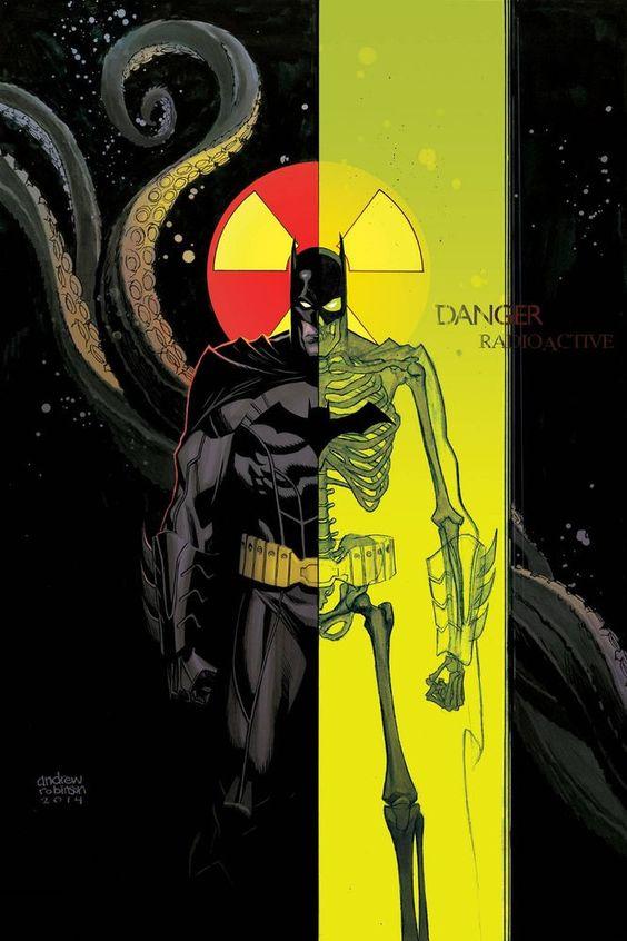 Batman, Detective Comics #34 variant cover by Andrew Robinson
