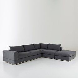Canapé d'angle modulable droit ou gauche, Dakota
