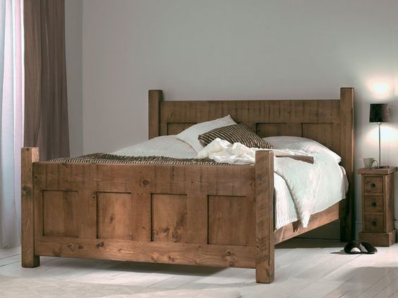 Panel Bed Beds And Four Poster Beds On Pinterest