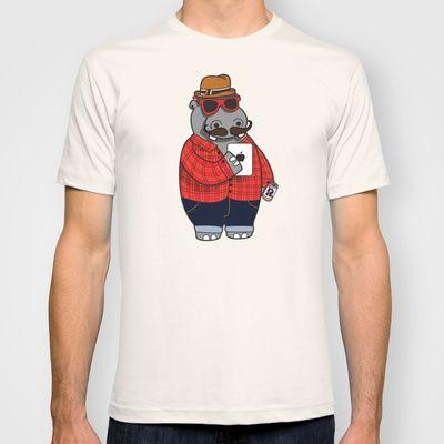 Hipposter shirt