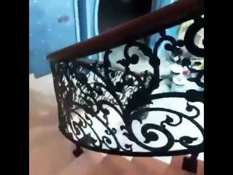 درابزين حديد دائري Youtube Decor Home Decor Planter Pots