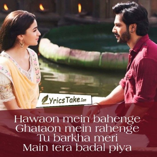 Kalank Title Track Lyrics Arijit Singh Kalank Song Lyrics Wallpaper Movie Love Quotes Music Quotes Lyrics