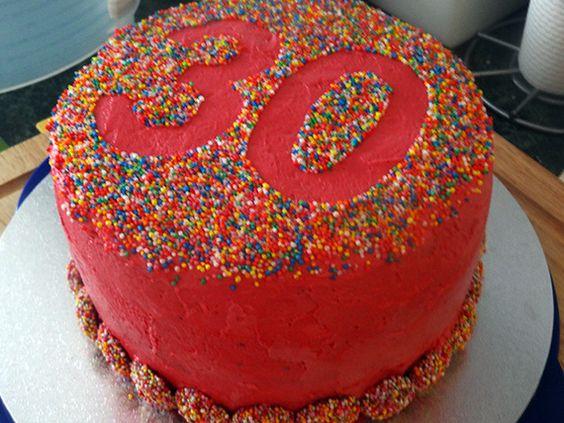 Chocolate Freckle Birthday Cake Kids
